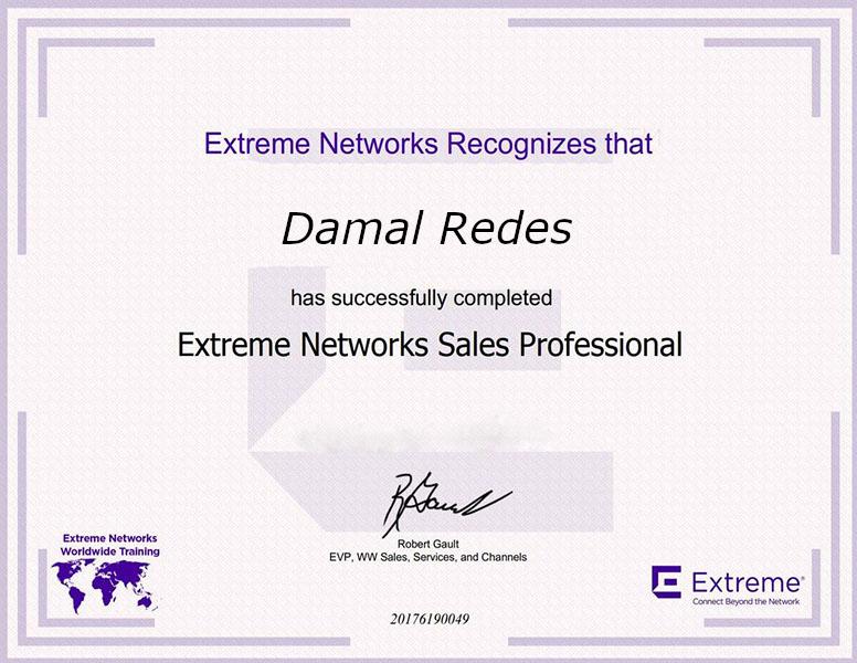 Alexandr Filippov Extreme Networks Sales Professional